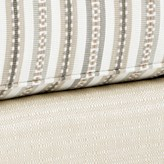 Cream and Light Green Stripe Combo 4944+5876