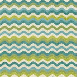 Green Wave Print 5052-21