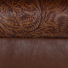 SG Brown and Paisley Embossed 9750 SG Brown+Paisley