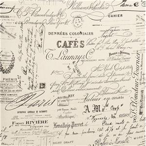 French Script Linen French Script Linen
