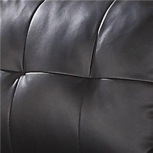 Lyssa Black Bonded Leather Match 51215