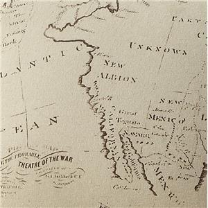 N. America Map 96229