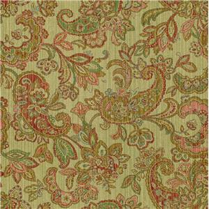 Spring Paisley Coral