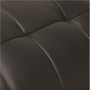 Black Tufted Leatherette Black Tufted Leatherette