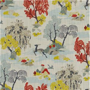 Toile Mid Century Modern