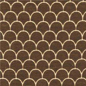 Brown Scalloped Pattern 784-70