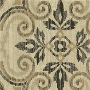 Aubusson Charcoal Linen Blend AUBUSSON CHARCOAL