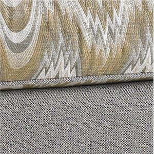 Gold Printed and Solid Grey Fabric 4880-74+5843-41