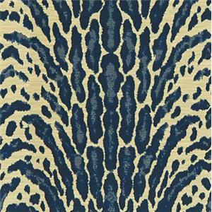 Blue Animal Skin Print 5019-31