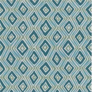 Aqua Contemporary Print 5048-21