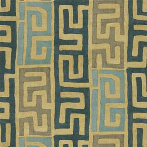 Blue Tribal Stripe 5282-31