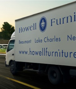 Howell's Delivery Truck