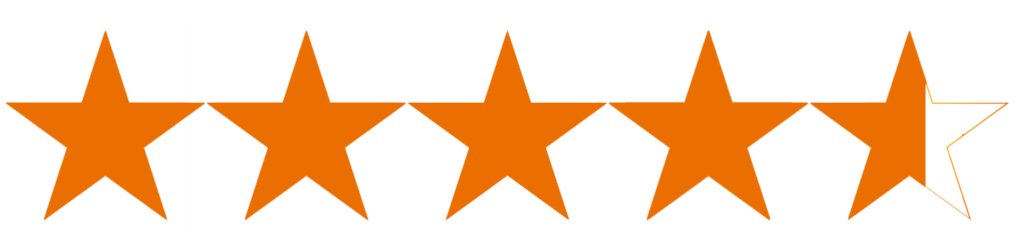 Image result for 4.6 stars
