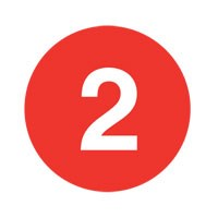 Number 2 Train Logo