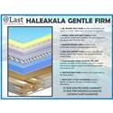 @Last @Last Classic Haleakala Gentle Firm King Pocketed Coil Adj Set - Item Number: HALCF-K+2xProdLumAdj-TXL