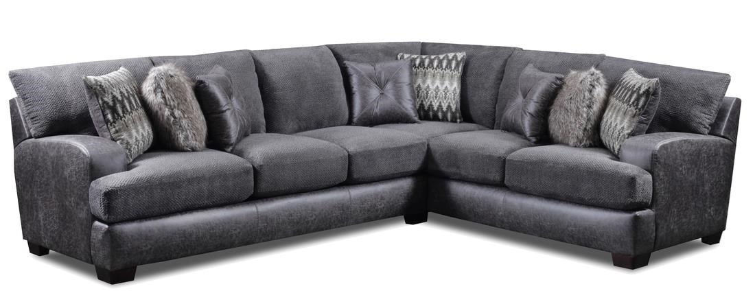 Seminole Furniture 3250 5 Seat Sectional - Item Number: 3250-32+42