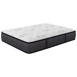 "Ashley Sleep M754 Bonita Springs Plush Queen 15 1/2"" Plush Pocketed Coil Mattress"