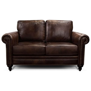 England Wilson Rolled Arm Love Seat
