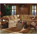 Fairfield 3720 Sectional Sofa - Item Number: 3720-52+53