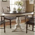 "Winners Only Cambridge 60"" Pedestal Table - Item Number: DC14260MPB+MPT"
