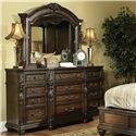 Fairmont Designs Chateau Marmont Dresser and Mirror - Item Number: C7016-05+06