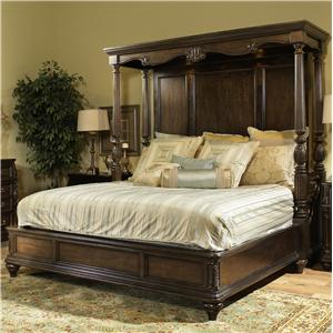 Fairmont Designs Chateau Marmont King Panel Bed w/ Canopy ...