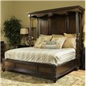 Fairmont Designs Chateau Marmont Queen Canopy Bed - Item Number: C7016-63+64+58+69