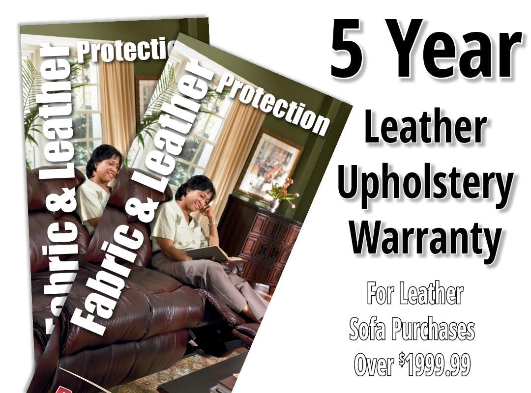 Boulevard Home Furnishings Leather 5 Year Warranty Sofa Leather Protection Warranty - Item Number: 1520001