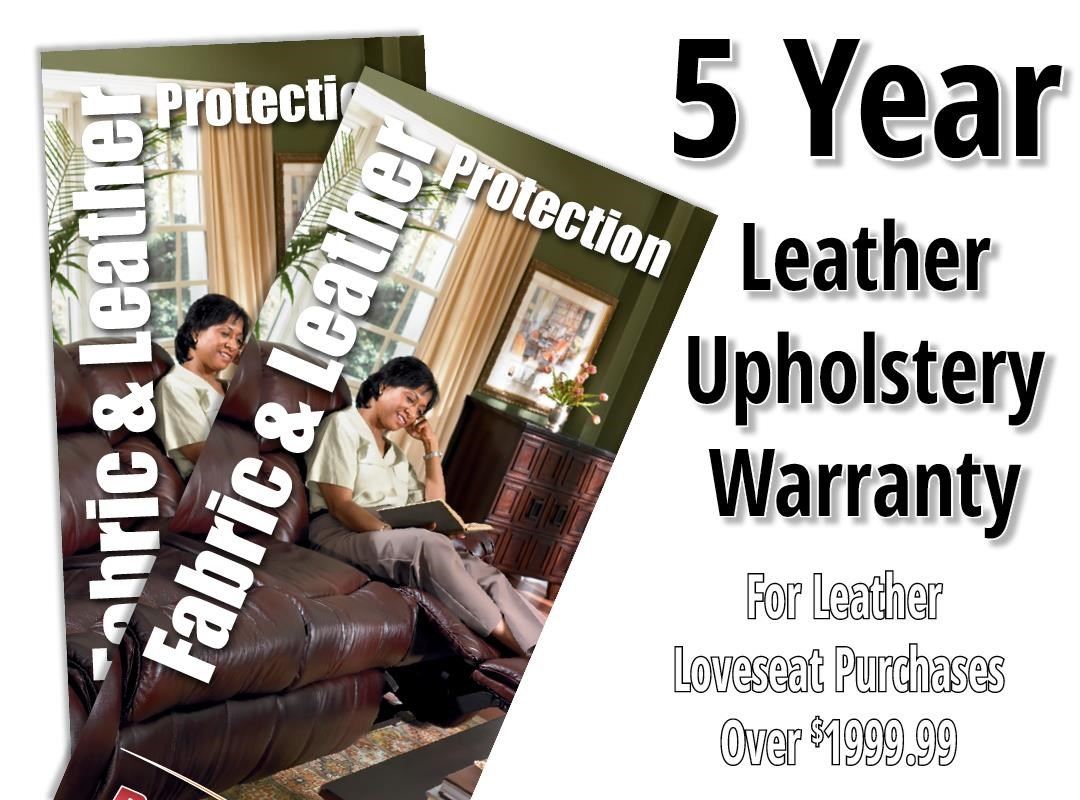 Boulevard Home Furnishings Leather 5 Year Warranty Love Seat 5 Year Leather Protection Warranty - Item Number: 1520001