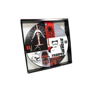 "Boulevard Home Furnishings Star Wars Star Wars 13.5""  Wood Wall Clock"