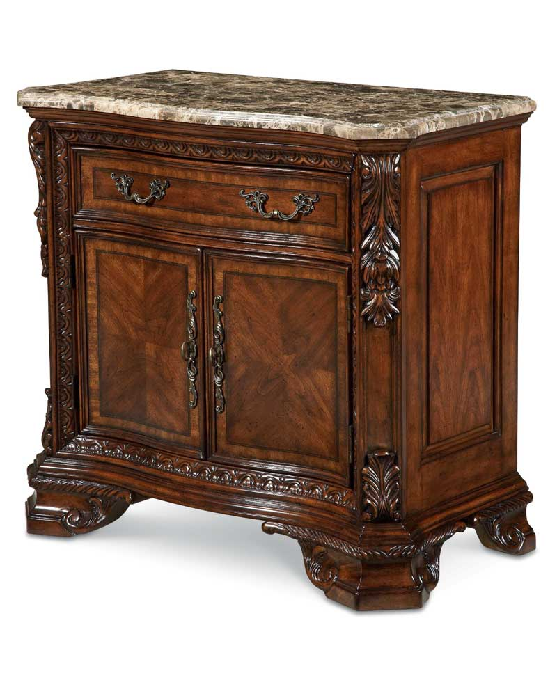 A.R.T. Furniture Inc Old World Door Nightstand - Item Number: 43142