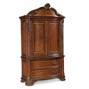 A.R.T. Furniture Inc Old World Armoire Base and Top
