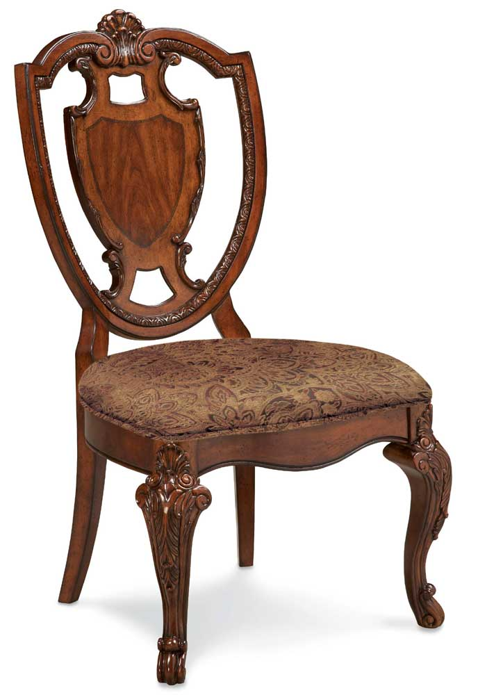 A.R.T. Furniture Inc Old World Shield Back Side Chair - Item Number: 43204