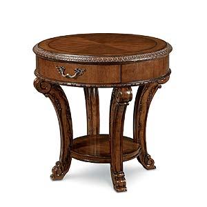 Belfort Signature Overture Round End Table