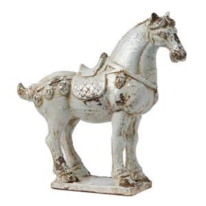 Large Warrior Horse Statue