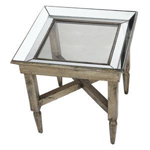 Jordan Mirrored End Table
