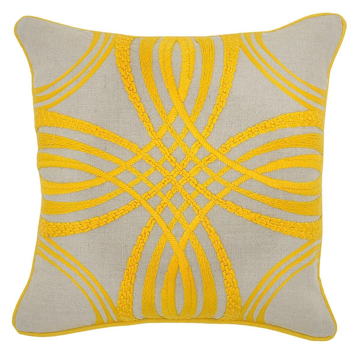 Good Ruby Gordon Accents Ruby Gordon Accents Embroidered Pillow   Item Number:  MER 3072