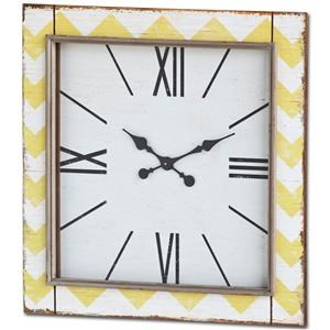 Ruby-Gordon Accents Ruby Gordon Accents Square Clock