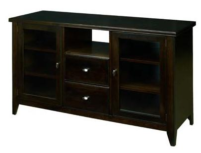 Tribeca  Entertainment Console by AA Laun at Mueller Furniture