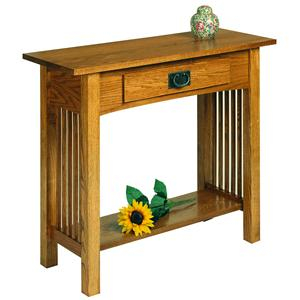 Sofa Table Console with Drawer