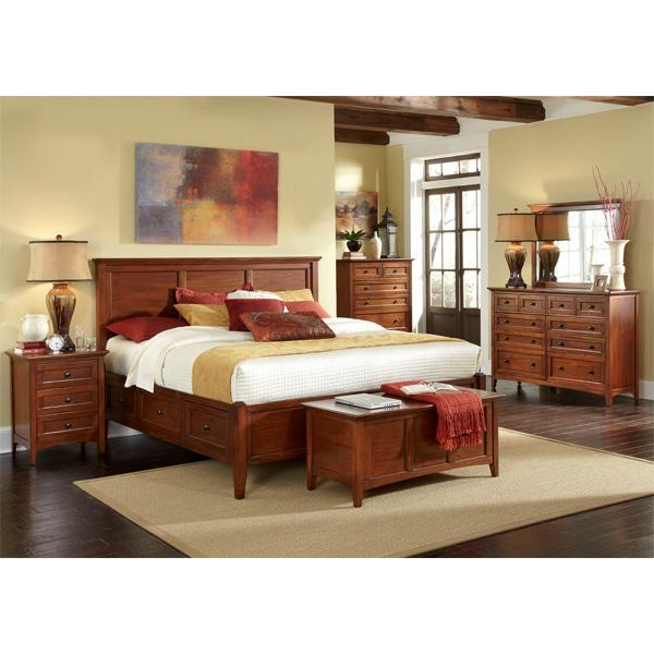 5PC Queen Storage Bedroom Set