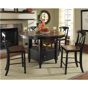 AAmerica British Isles 5Pc Counter Height Dining Room