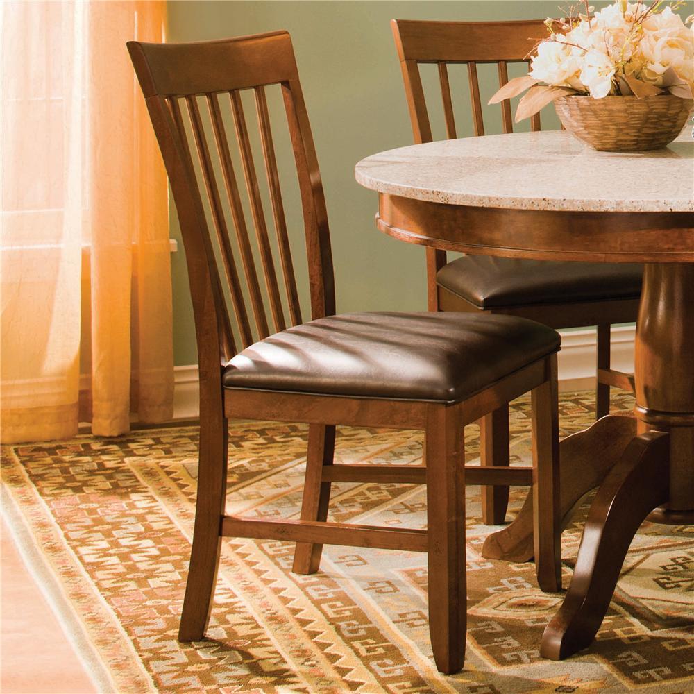 AAmerica Granite-JV Slatback Side Chair - Item Number: GRA-JV-2-45-K