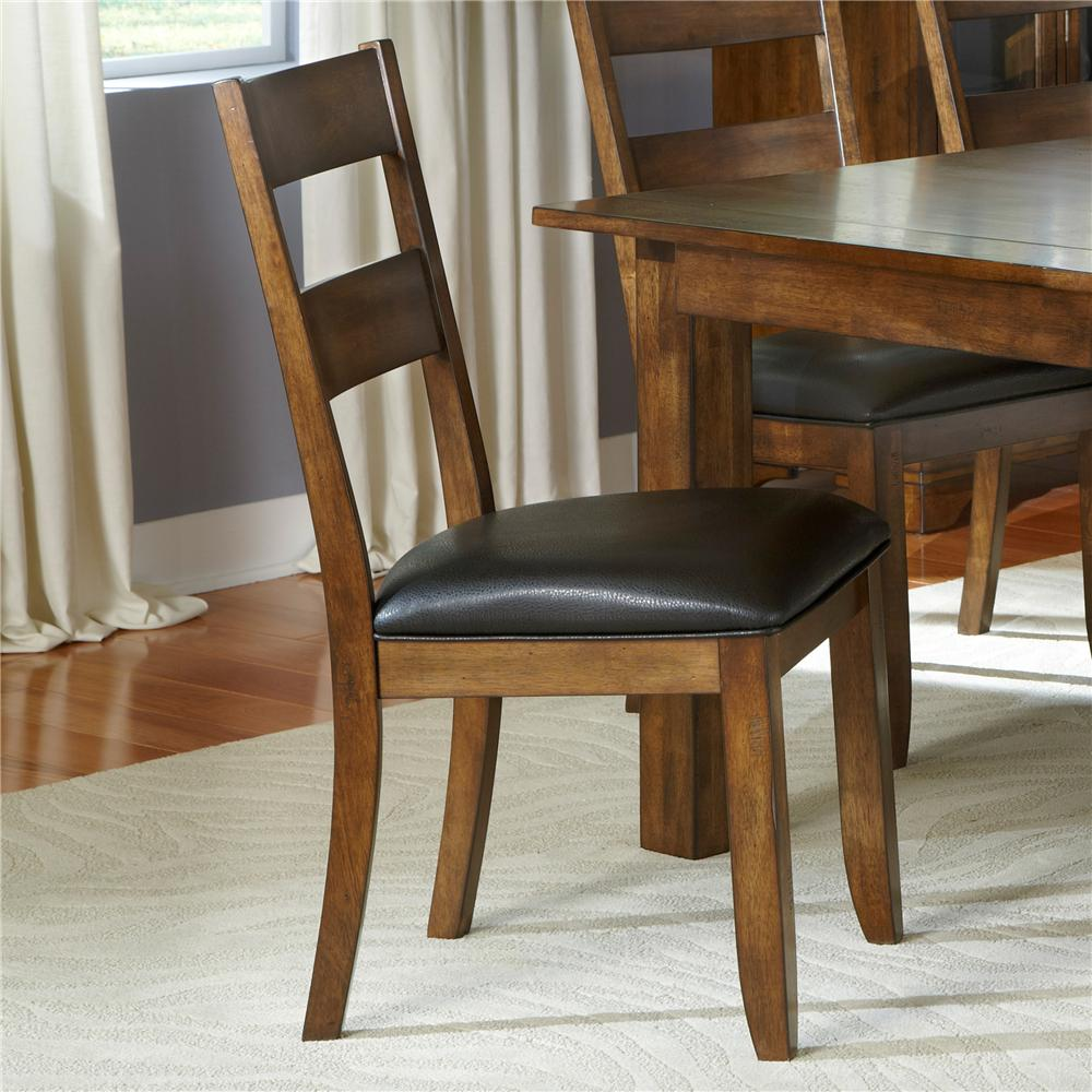 AAmerica Mariposa Ladderback Side Chairs - Item Number: MRP-RW-2-55-K