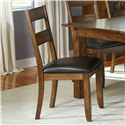 AAmerica Mariposa Ladder Back Side Chairs