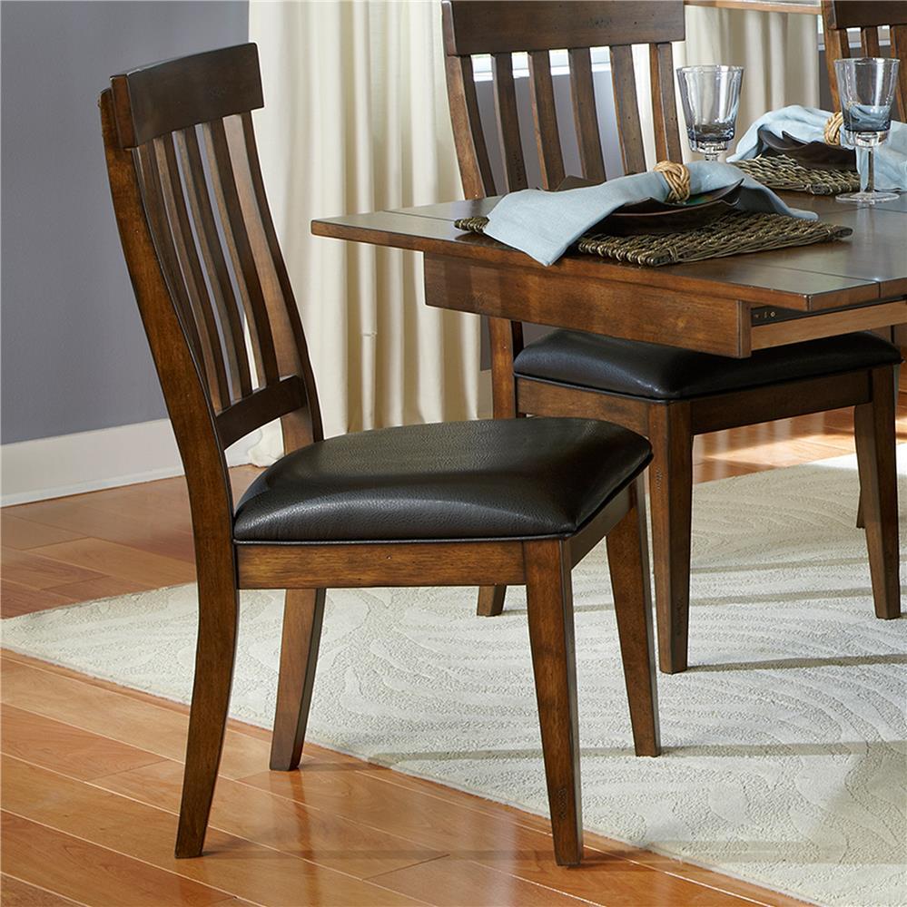 AAmerica Mariposa Slatback Side Chair - Item Number: MRP-RW-2-65-K