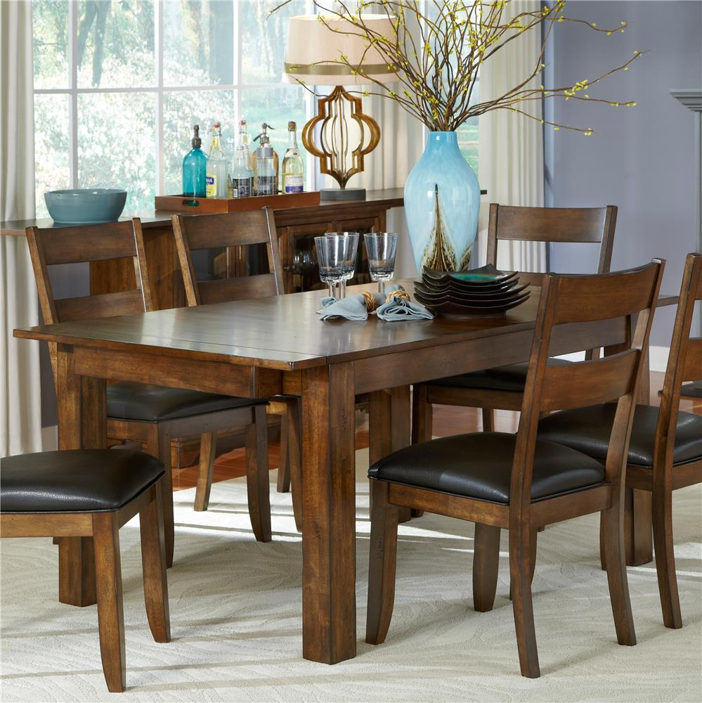 AAmerica Mariposa Dining Leg Table - Item Number: MRP-RW-6-20-0
