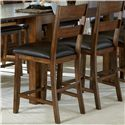 AAmerica Mariposa 7 Piece Counter Height Dining Room