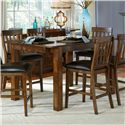 AAmerica Mariposa 9 Piece Counter Height Dining Room