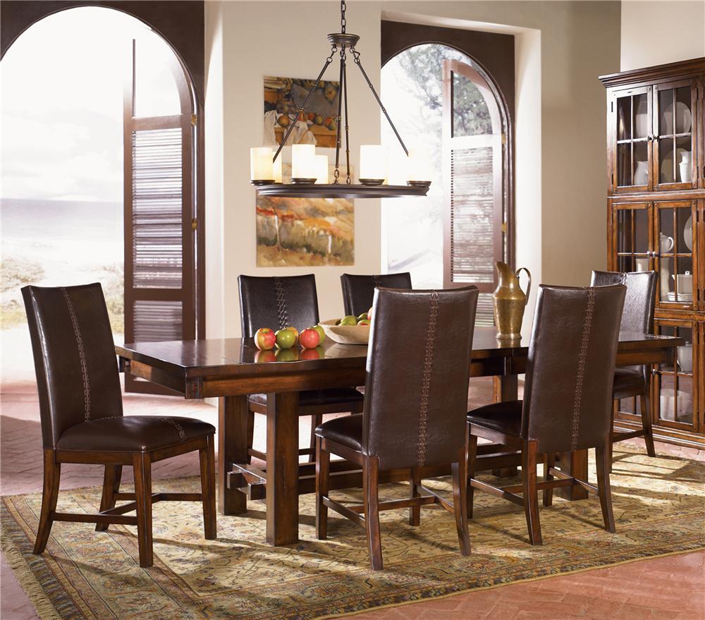 AAmerica Mesa Rustica 5Pc Dining Room - Item Number: MESA-AM 5Pc L